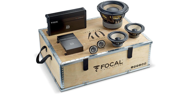 Focal отметил свое сорокалетие выпуском ряда моделей в юбилейном исполнении