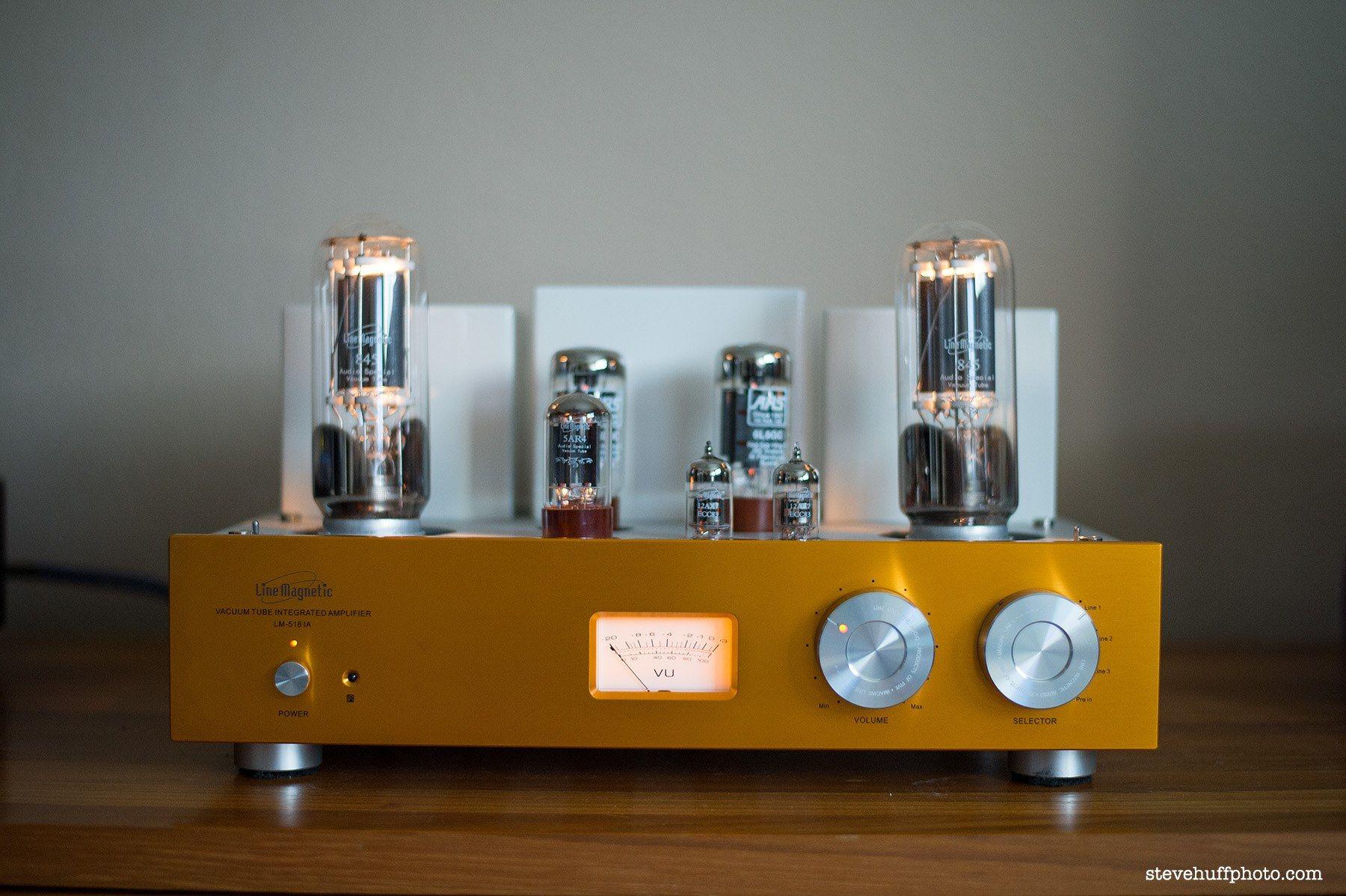 Line Magnetic Audio LM-518IA в качестве интегрального усилителя